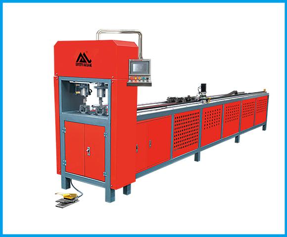 Two-position automatic CNC punching machine