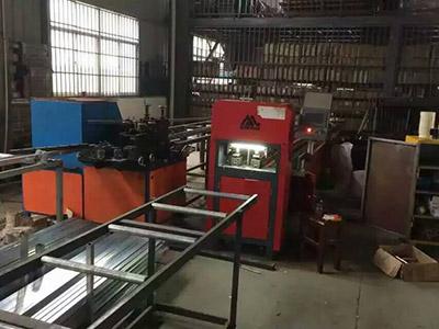 Anti-theft network CNC punching machine