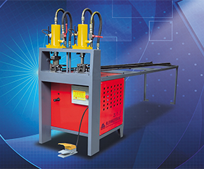 2 semi automatic punching machine for door flower