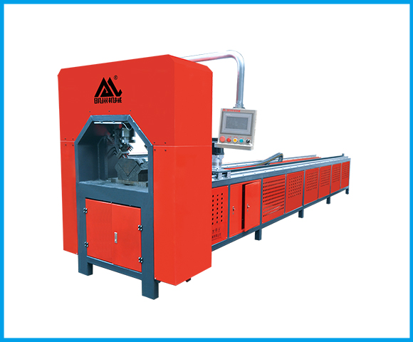 Two-position automatic CNC punching machine